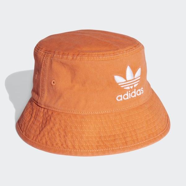 17190fe7222c29 adidas Adicolor Bucket Hat - Orange | adidas Ireland