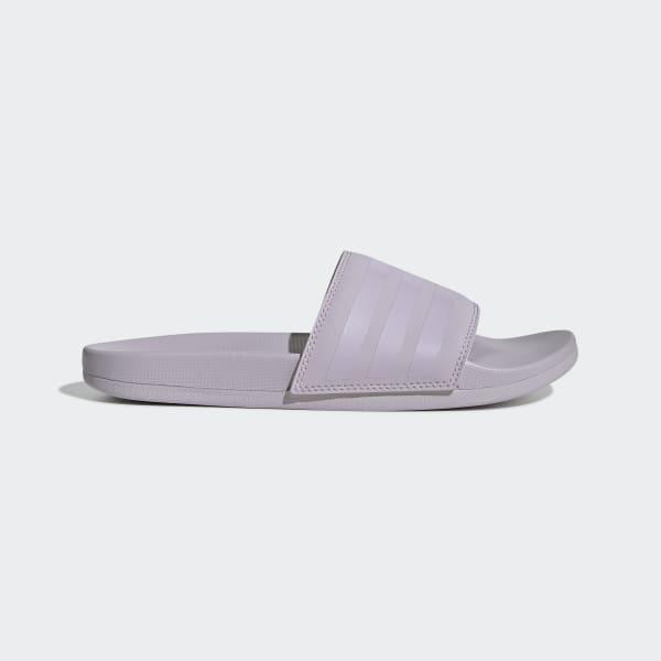 Light Purple Comfort Slides   adidas