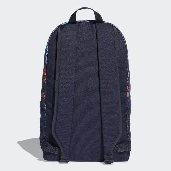 2459a3192 Mochila Estampada Linear Core - Azul adidas | adidas Brasil