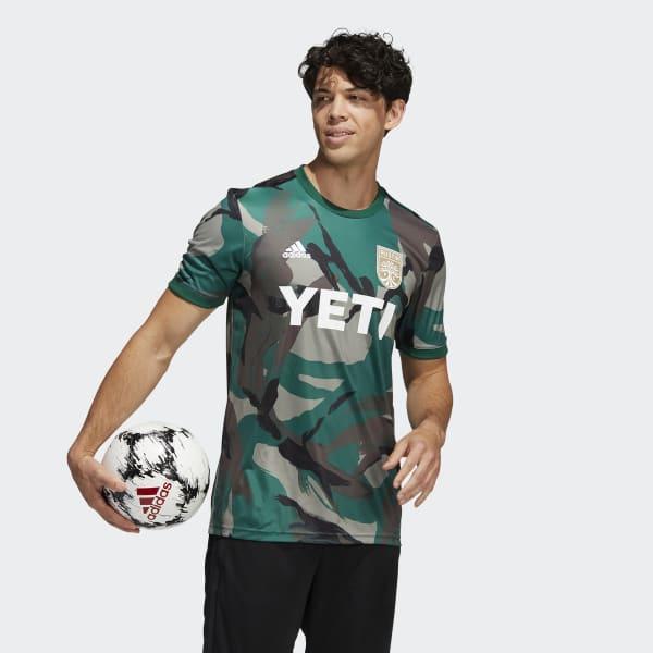 Austin FC Camo Pre-Match Jersey