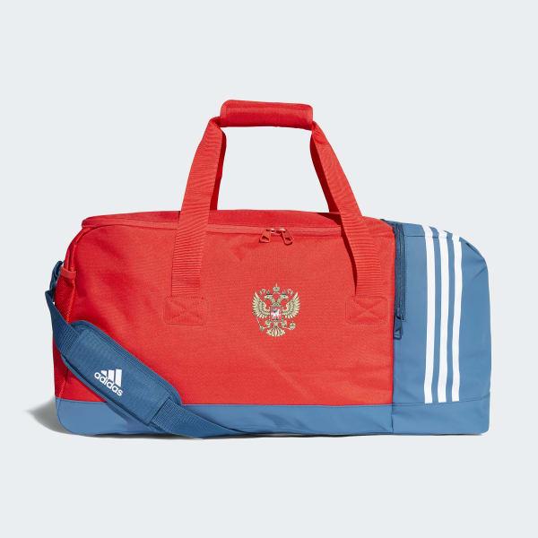 Formación Policía Jane Austen  adidas Bolso Deportivo Selección de Rusia - Rojo | adidas Argentina