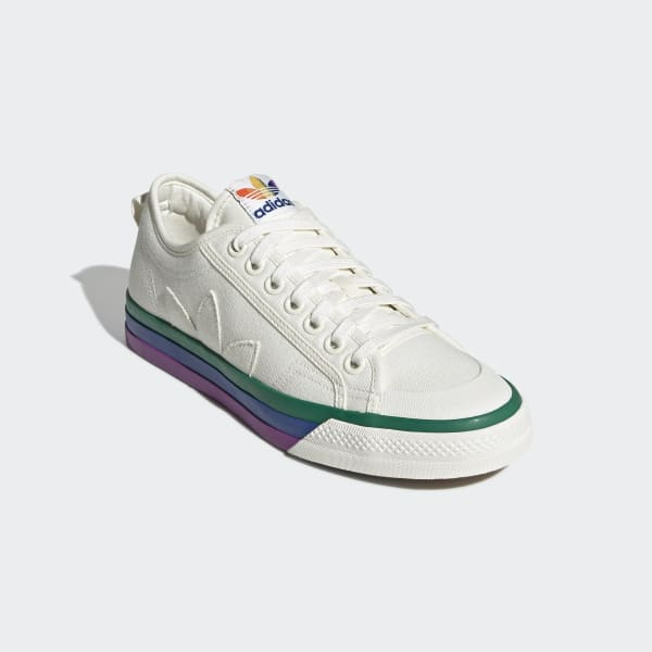 adidas Nizza Pride Shoes White | adidas US