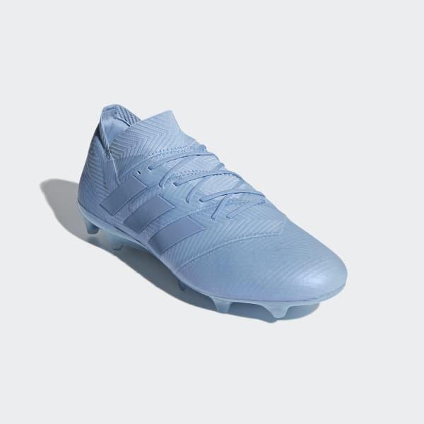 cbe95ee6 adidas Футбольные бутсы Nemeziz Messi 18.1 FG - Blue | adidas Россия