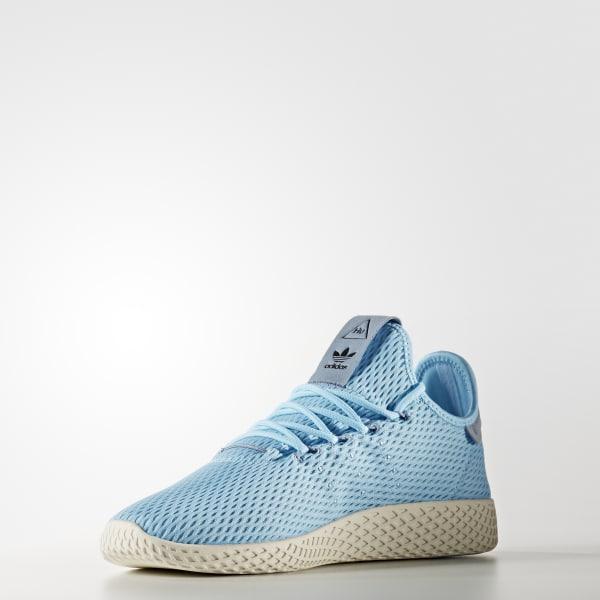 adidas Obuv Pharrell Williams Tennis Hu - tyrkysová  da75d34aedc