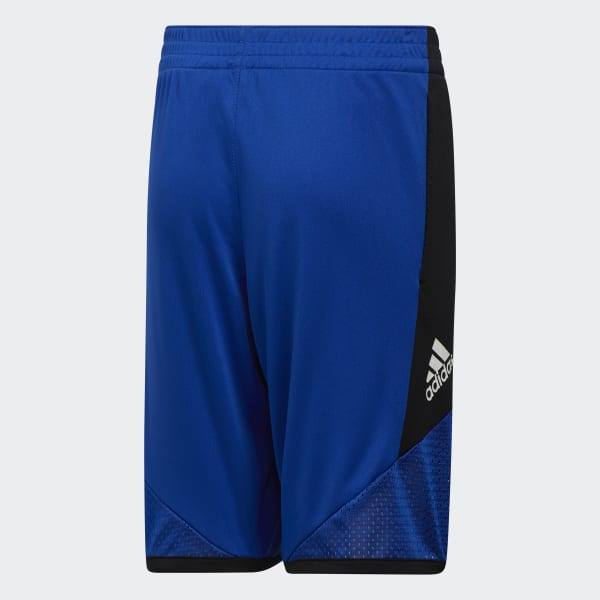 Blue//Black adidas Performance Mens Pro Bounce Sports Basketball Shorts