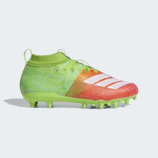 adidas Adizero 8.0 Cleats - Green