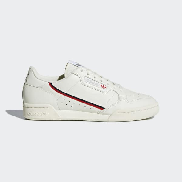 Adidas Continental 80 White Scarlet | Sneakers, Adidas
