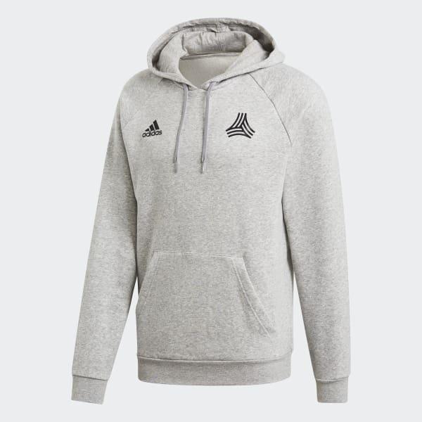 adidas TAN Graphic Hooded Sweatshirt - Grey  42702d5a7ed3