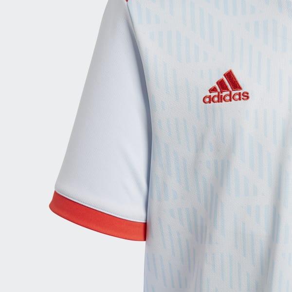 f99bf01d39 Camisa Oficial Espanha 2 Juvenil 2018 - Azul adidas