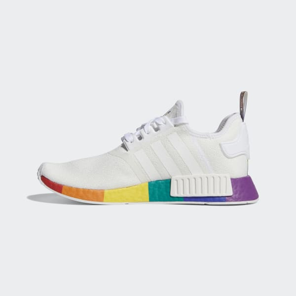 nmd adidas white and orange