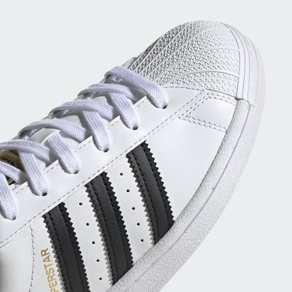 Superstar Cloud White and Core Black