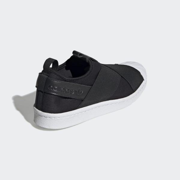 adidas Superstar Slip-On Shoes - Black