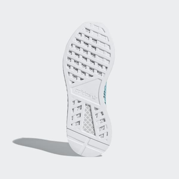 4998e0f3296 Zapatilla Deerupt Runner Parley - Turquesa adidas