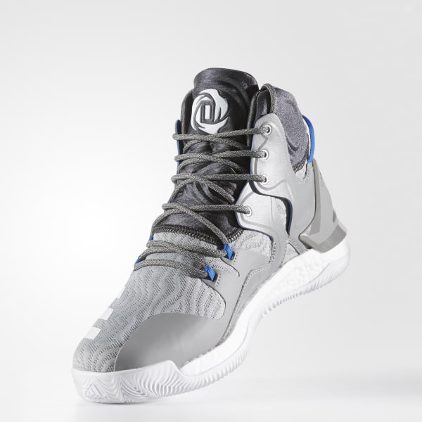 ff5a55202ffd adidas Men s D Rose 7 Shoes - Grey
