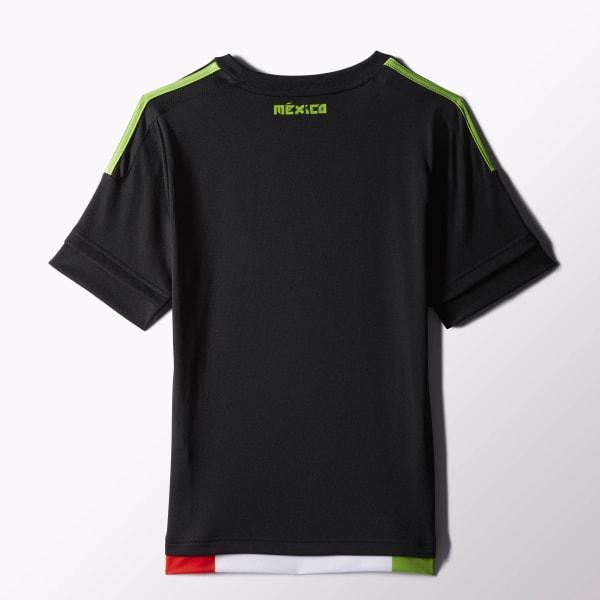 adidas Jersey Selección Mexicana Local 2015 2016 Niños - Negro ... 1bec60767b80d