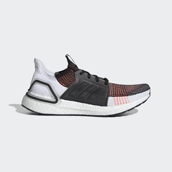 Men S Ultraboost 19 Core Black And Cloud White Shoes Adidas Us