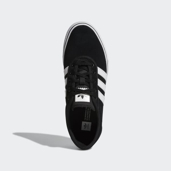 adidas skateboarding adi-ease trainers in black by4028