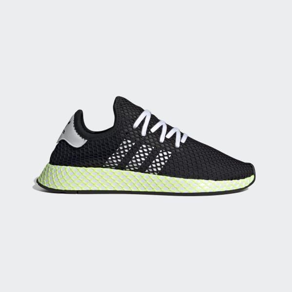 Nye Adidas Originals menn ' s Deerupt Runner sko svart