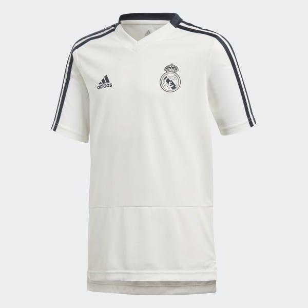 a78e84b1eacf4 Camiseta entrenamiento Real Madrid - Blanco adidas