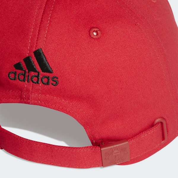 87742908a4a adidas Manchester United Hat - Red
