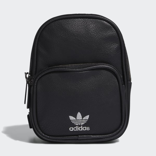 black adidas leather