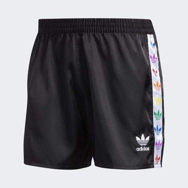 Pantalón corto Pride Trefoil Tape Negro adidas   adidas España