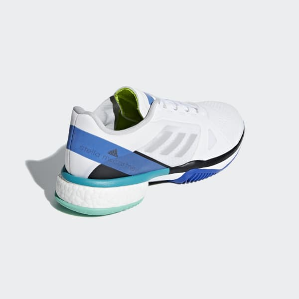 huge selection of 9e629 78459 adidas by Stella McCartney Barricade Boost Shoes - White  ad