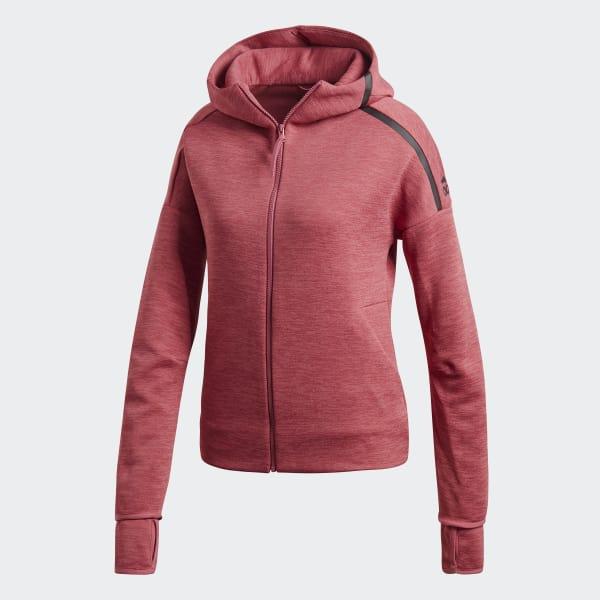 Chaqueta con capucha adidas Z.N.E. Fast Release - Rosa adidas ... d031d8c6561