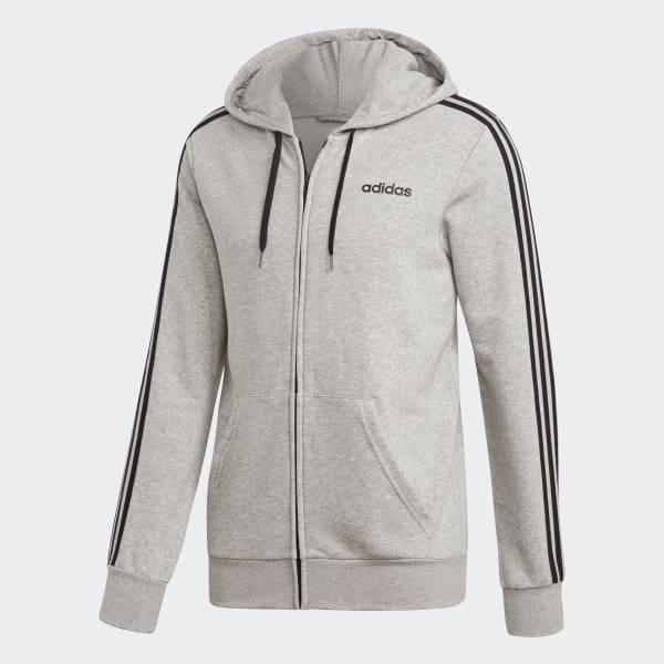 adidas Essentials 3-Streifen Trainingsjacke - Grau | adidas Deutschland