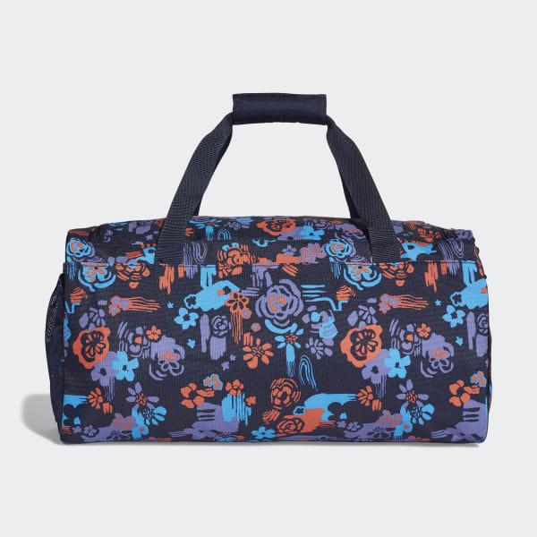 46da24b068 adidas Linear Core Graphic Duffel Bag Small - Blue | adidas UK