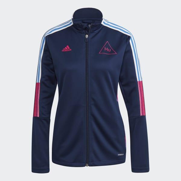 adidas Human Race Track Jacket Blue | adidas Deutschland