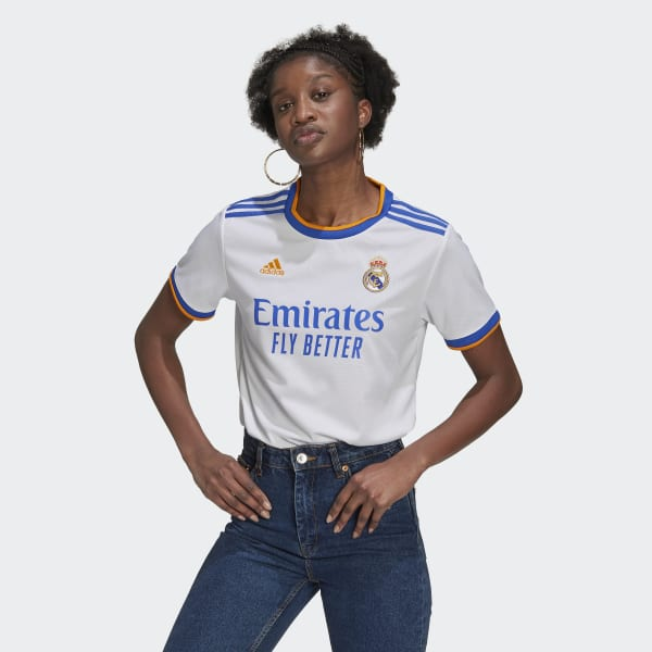 Real Madrid 21/22 Home Jersey