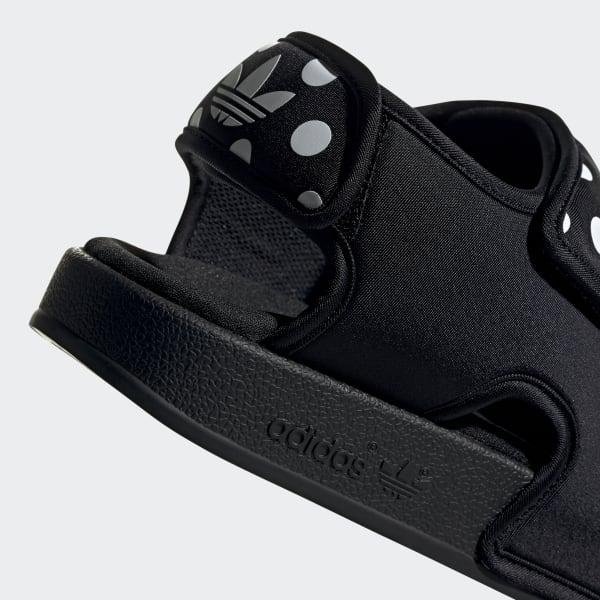 adidas Originals ADILETTE 3.0 - Sanda?y - core black/footwear white