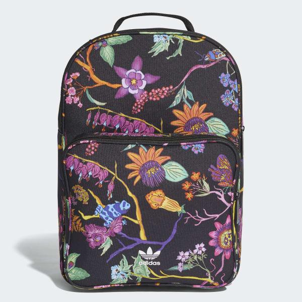 Mochila Classic Poisonous Garden - Preto adidas  98259eea34778
