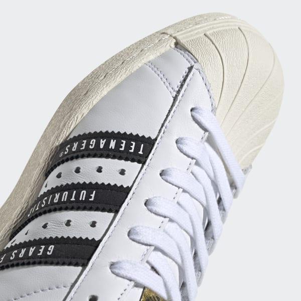 Scarpe Superstar 80s Human Made Bianco adidas | adidas Italia