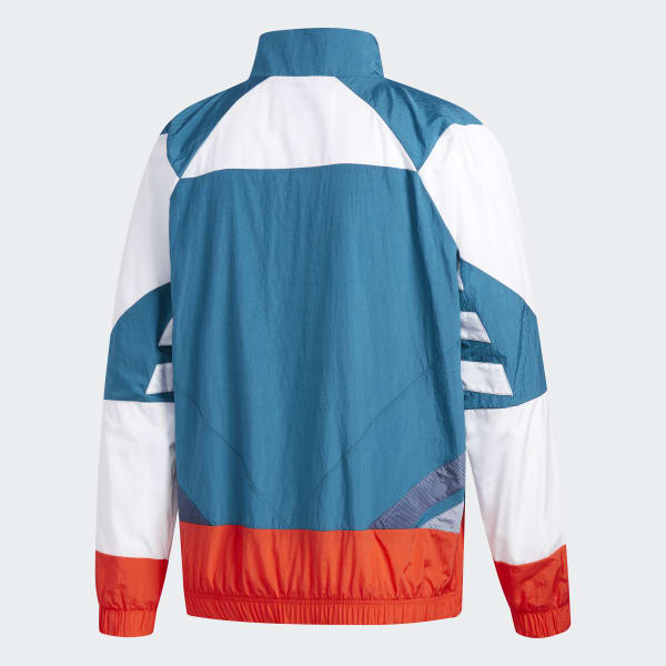 cf8fa8ddac73 adidas V-Stripes Windbreaker - Red