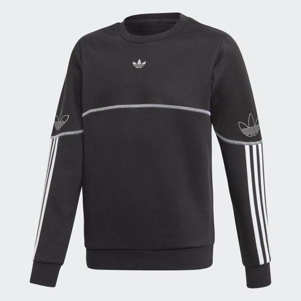 Outline Crew Sweatshirt