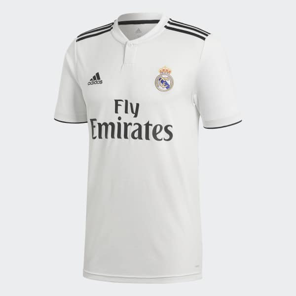 adidas Dres Real Madrid Home - bílá  8f7de9e72b