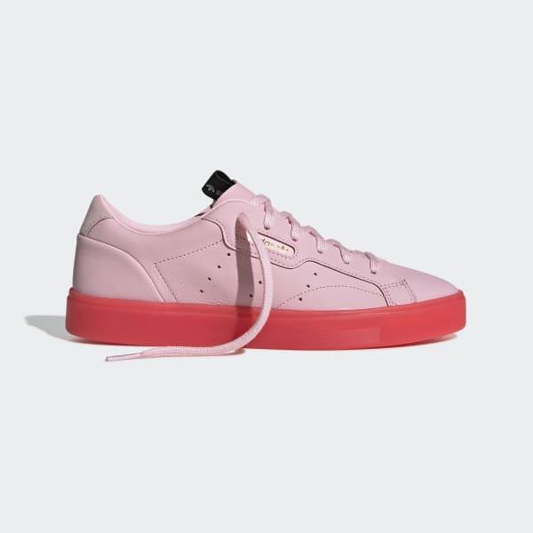 36091cd00c24a adidas Sleek Shoes - Pink