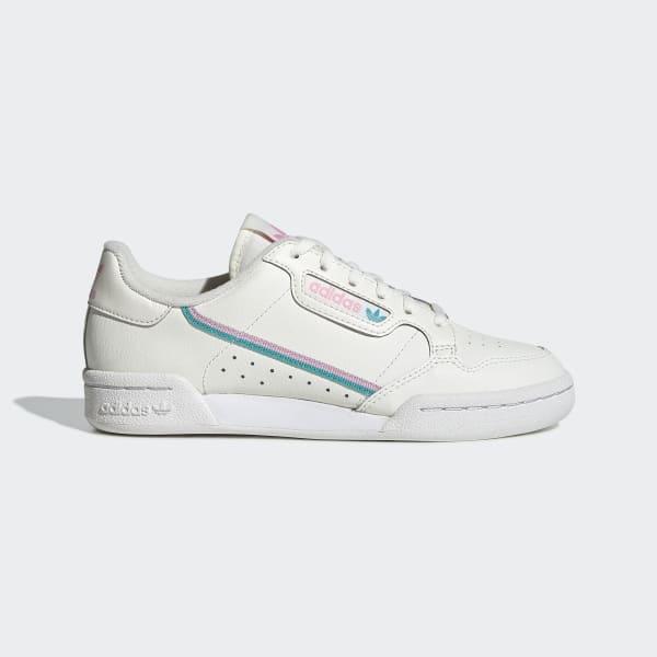 Cita probabilidad Haiku  adidas Continental 80 Shoes - White | adidas US