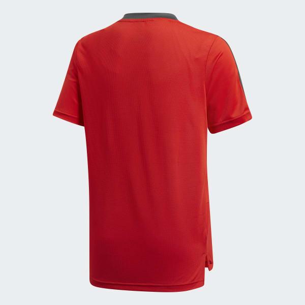 Maillot d entraînement FC Bayern Munich - rouge adidas  83027fa3c1c