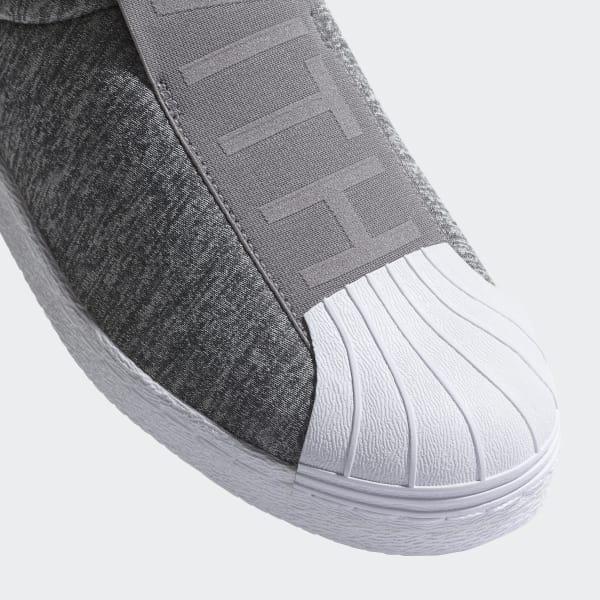tenis adidas superstar gris