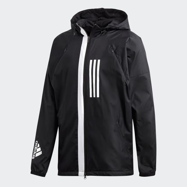 a443363250f adidas ID WND Jacket Fleece-Lined - Black | adidas Ireland