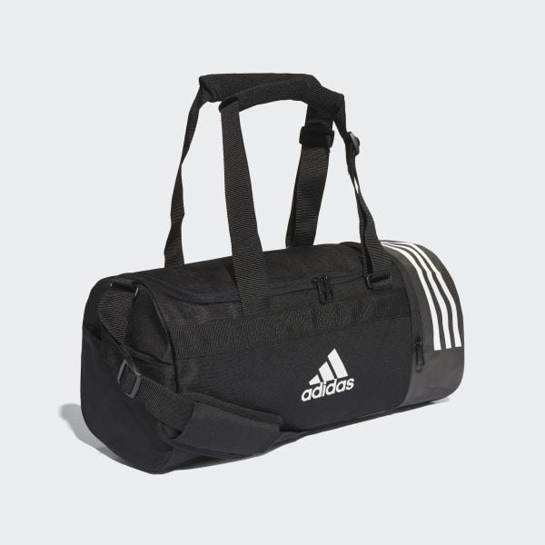 กระเป๋าดัฟเฟิล 3-Stripes ขนาดเล็ก ปรับเป็นกระเป๋าสะพายหลังได้