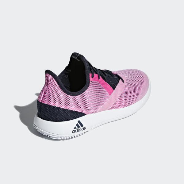 adidas damen adizero defiant bounce tennisschuhe rosa