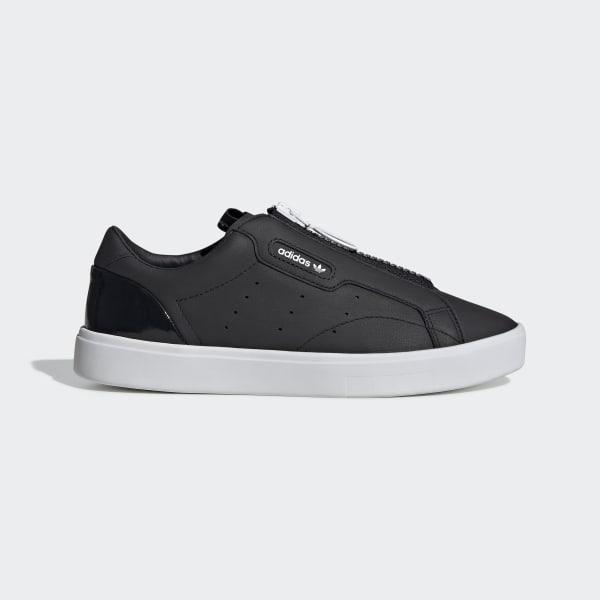 aleación Adelante cruzar  adidas Sleek Zip Shoes - Black | adidas Turkey