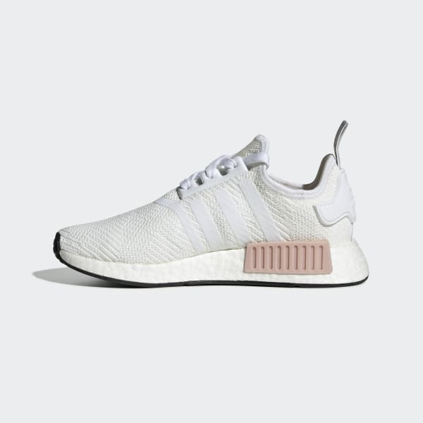 Women S Nmd R1 Cloud White And Rose Gold Shoes Adidas Us