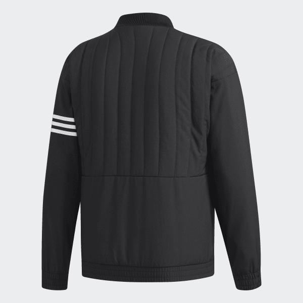 7dbb253a1d9 adidas Quiltet jakke - Sort | adidas Denmark
