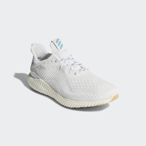 adidas Tenis Alphabounce 1 Parley - Blanco  3cd2c5cf57a84