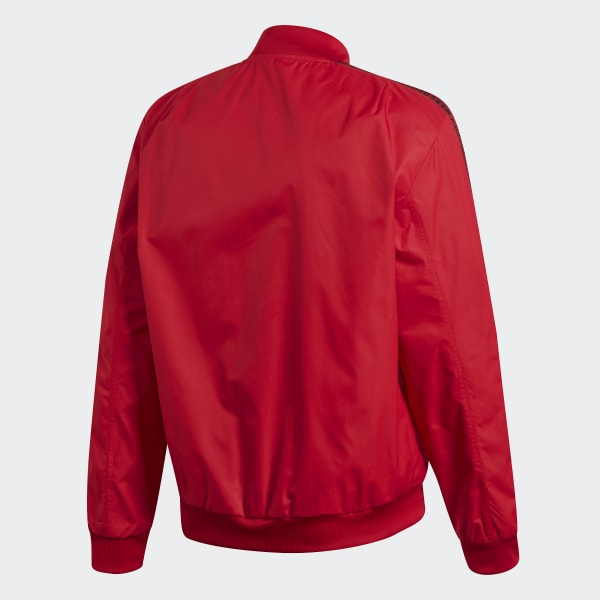Adidas Sverige Adidas Manchester United Anthem Jacket Röd